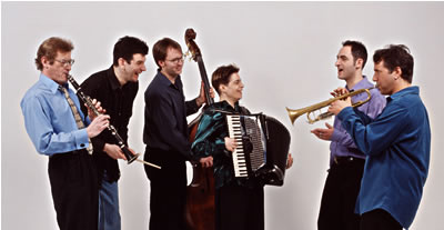 Flying Bulgars publicity shot w/instruments