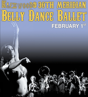 klezwoods belly dance ballet poster